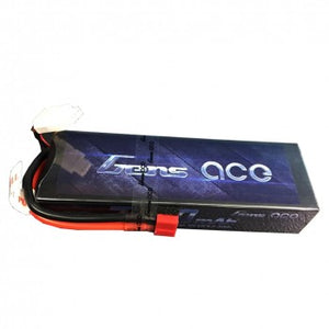 Gens ace 7200mAh 7.4V 70C 2S1P HardCase Lipo Battery Pack 21# with Deans plug