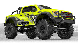 GMA57004V2   GS02 Komoda Double Cab TS 1/10 Scale Trail Crawler Kit w/ Metal Link Set & Additional Upgrades