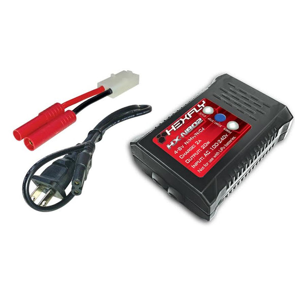 Hexfly HX-N802 Battery Charger 4.8v NiMH/NiCd