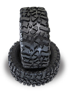 "PBTPB9009ZDK   Rock Beast XL 3.8"" Scale Tires w/Foam Inserts, Zuper Duper Compound"