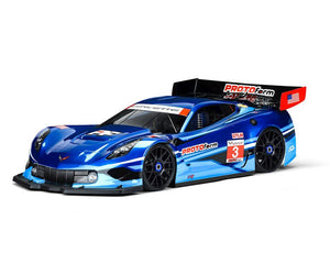 Protoform - PRM1551-40 Corvette C7.R 1/8 Touring Car Body (Clear) (GT2) (Short Wheelbase)