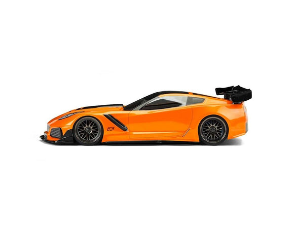 Protoform Chevrolet Corvette ZR1 Touring Car Body (Clear) (190mm)