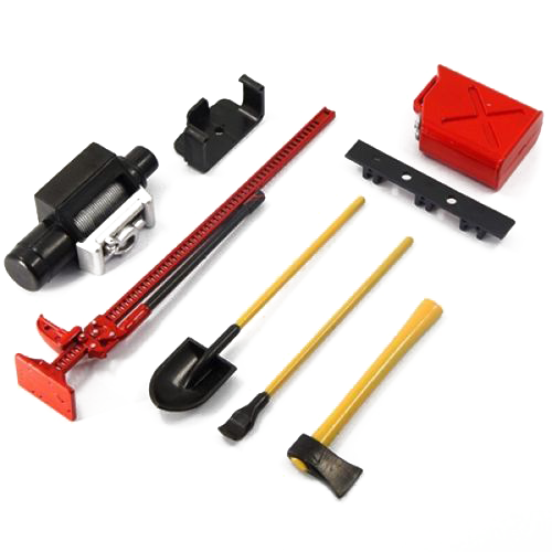 1:10 Scale Crawler Accessory Tool Set - Race Dawg RC