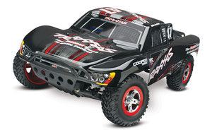 Traxxas TRA58034-1-MIKE   Slash 1/10 2WD Mike Jenkins RTR w/2.4GHz, iD Battery & 4amp Peak DC Charger
