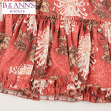 RUSTIC PRAIRIE MINI SKIRT - B ANN'S BOUTIQUE