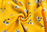 YELLOW FLORAL MINI ITS A WRAP DRESS - B ANN'S BOUTIQUE