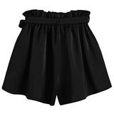 HIGH WAIST BELTED SHORTS - B ANN'S BOUTIQUE