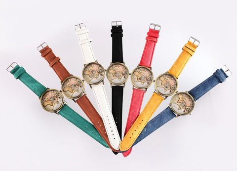 ALL AROUND THE WORLD WATCH - B ANN'S BOUTIQUE