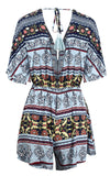 PATTERNED PERFECT ROMPER - B ANN'S BOUTIQUE
