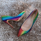THE RAINBOW SHIMMER PUMP