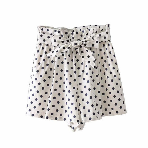 PERFECT POLKA DOT SHORTS - B ANN'S BOUTIQUE