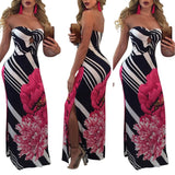 MERCI ME FITTED MAXI DRESS - B ANN'S BOUTIQUE