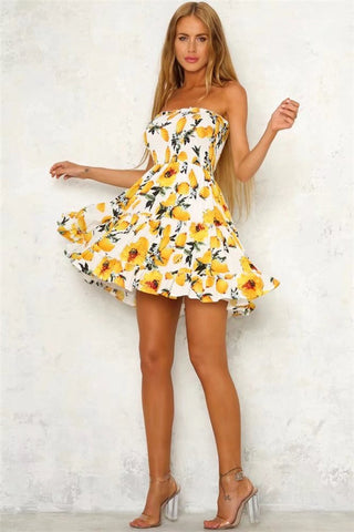 LEMON DROP DRESS - B ANN'S BOUTIQUE