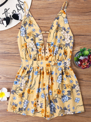 WILDFLOWER DELIGHT ROMPER - B ANN'S BOUTIQUE