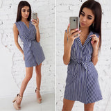 SARAH STRIPE DRESS