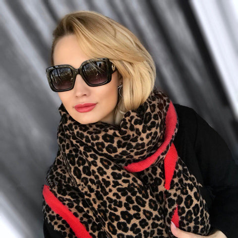 LEOPARD LOVE SCARF - B ANN'S BOUTIQUE