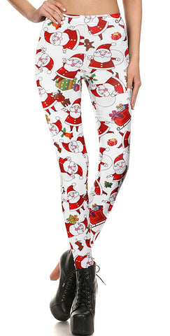 CHRISTMAS TIME LEGGINGS - B ANN'S BOUTIQUE
