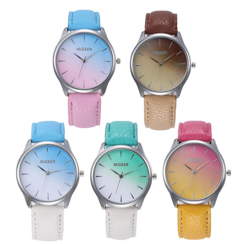 TWO-TONE FASHION WATCH - B ANN'S BOUTIQUE