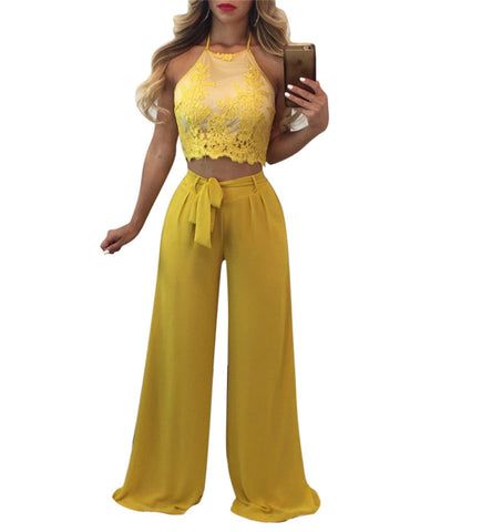 SUNNY SKIES PANTS SET - B ANN'S BOUTIQUE