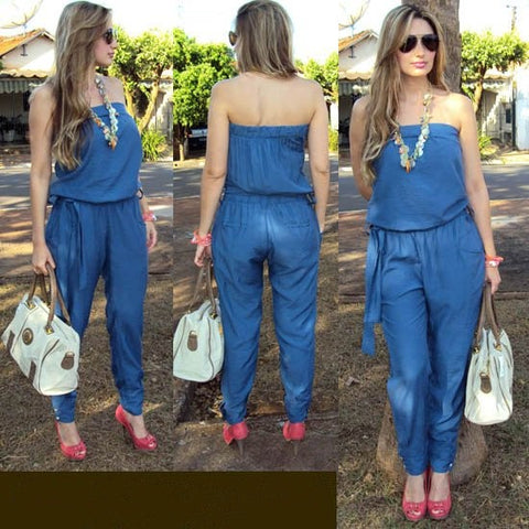DAE'S DENIM DREAM JUMPSUIT - B ANN'S BOUTIQUE