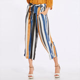 WINNIE'S WIDE STRIPE PANTS - B ANN'S BOUTIQUE