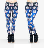 LAUGHING CATS LEGGINGS - B ANN'S BOUTIQUE