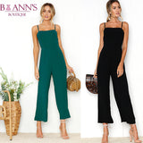 ANKLE PANT JUMPSUIT - B ANN'S BOUTIQUE
