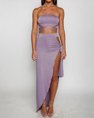 THE TIA TWO-PIECE DRESS - B ANN'S BOUTIQUE
