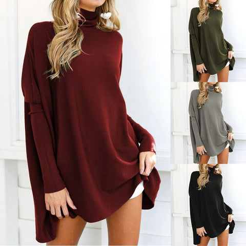 OVERSIZED TURTLENECK - B ANN'S BOUTIQUE
