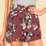 FAYE'S FLORAL BOUQUET SHORTS - B ANN'S BOUTIQUE