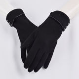 FAUX FUR-LINED GLOVES - B ANN'S BOUTIQUE