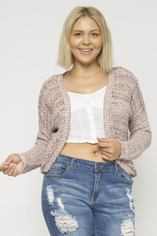 THE CALLIE CROP CARDIGAN