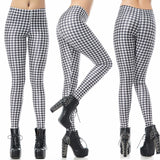 HOUNDSTOOTH LEGGINGS - B ANN'S BOUTIQUE