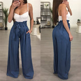HIGH WAIST WIDE LEG PANTS - B ANN'S BOUTIQUE