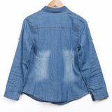 DENIM DAYS BUTTON-UP - B ANN'S BOUTIQUE