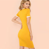 SUNNY SKIES SHEATH DRESS