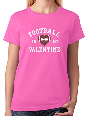 FOOTBALL IS MY VALENTINE TEE - B ANN'S BOUTIQUE