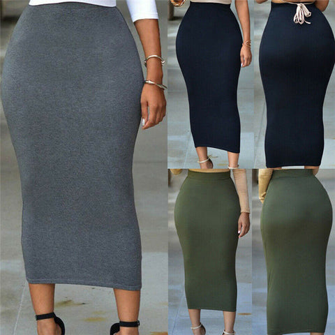 THE HAILEY HIGH WAIST SKIRT