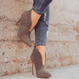 OPEN FRONT ANKLE BOOTIE - B ANN'S BOUTIQUE
