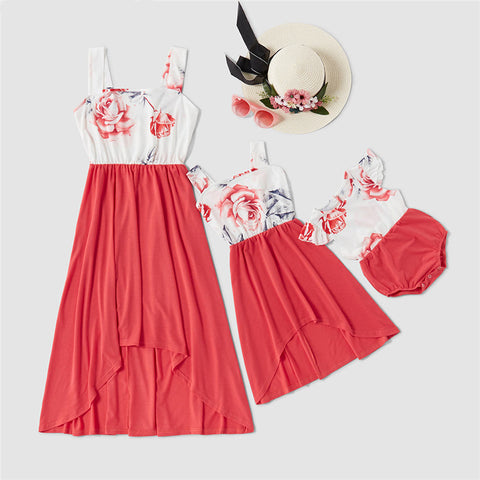 THE HIGH-LOW GARDEN ~ MOMMY & ME DRESS SET