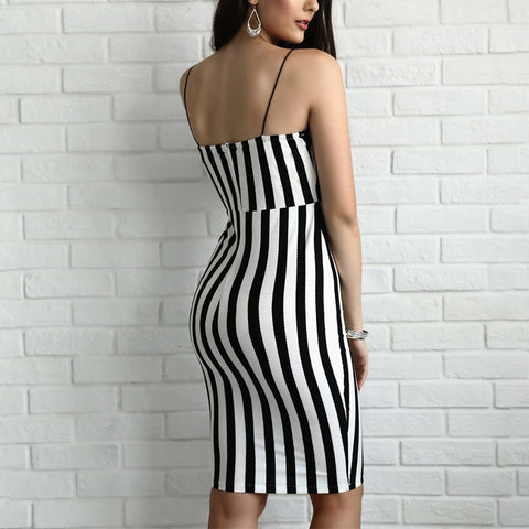 SERENA'S STRIPE IT RIGHT DRESS