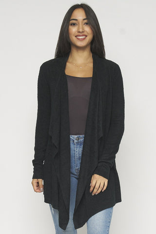 BETTER IN BLACK CARDIGAN
