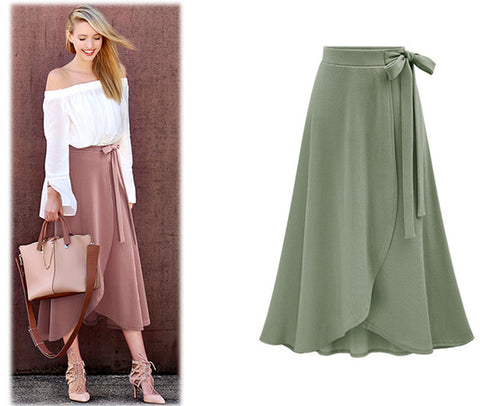 GO WITH THE FLOW SKIRT - B ANN'S BOUTIQUE