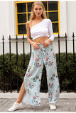 WALK THE LINE FLORAL PANTS - B ANN'S BOUTIQUE