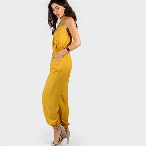 A RAY OF SUNSHINE JUMPSUIT - B ANN'S BOUTIQUE