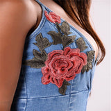 ROSE'S DENIM DREAM ROMPER