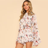 LILY & ROSE OPEN BACK ROMPER - B ANN'S BOUTIQUE