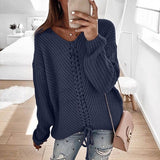 LACE-UP LOVE SWEATER