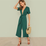 DREAMING IN THE FOREST JUMPSUIT - B ANN'S BOUTIQUE