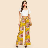 SAVANNAH SUNSHINE PANTS - B ANN'S BOUTIQUE